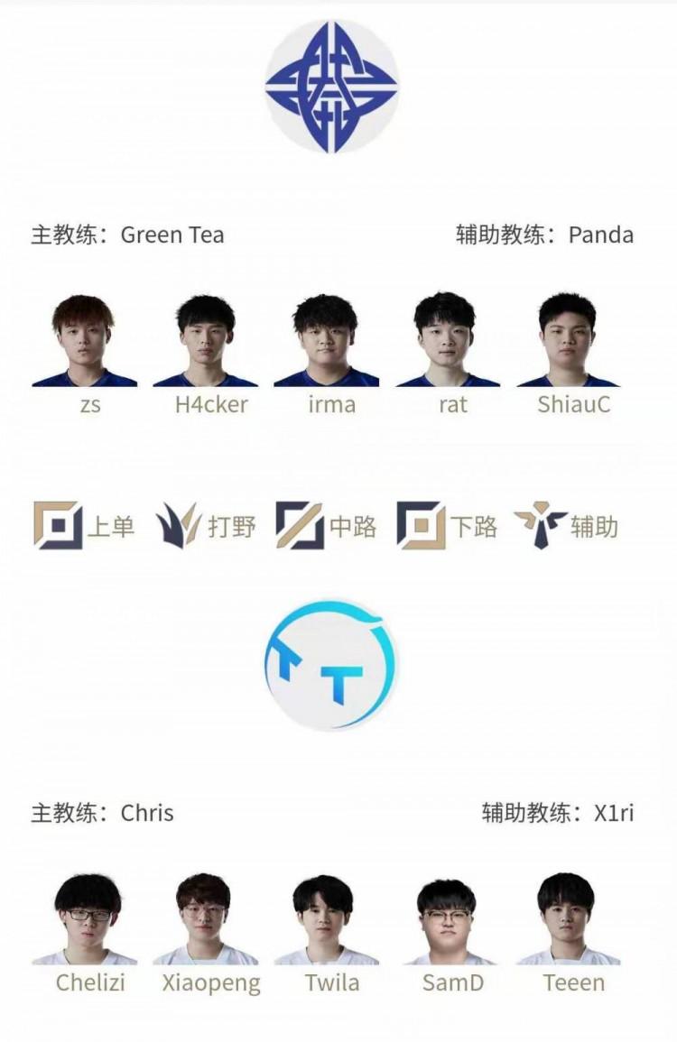 LP今日首发名单:H4cker野区对决Xiaopeng Xiye替补牙膏首发